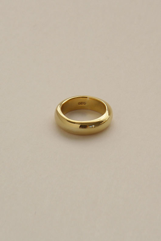 CELL RING GOLD (SILVER925)
