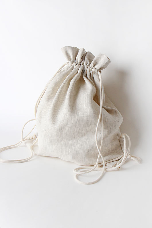 LINEN BACKPACK (BEIGE ONLY ONE)