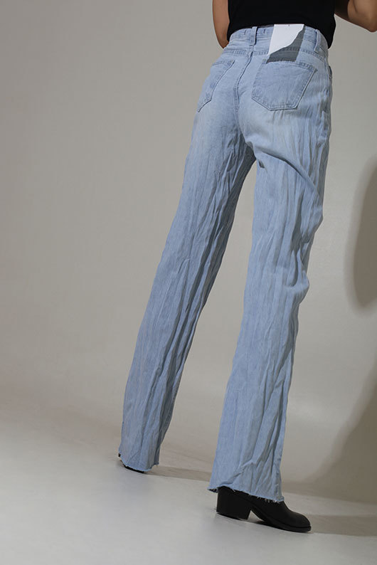 [STEADY SELLER] UNIQUE DENIM PANTS