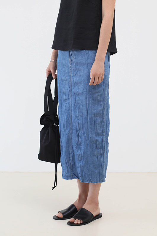 [STEADY SELLER] LONG DENIM SKIRT