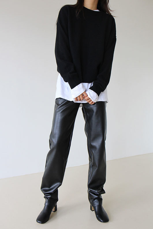 [STEADY SELLER] LEATHER PANTS