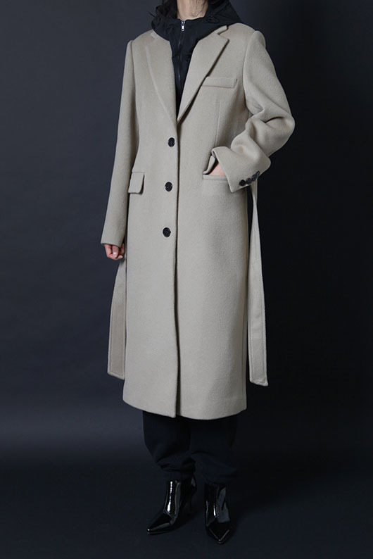 2 WAY HOOD COAT (BEIGE)