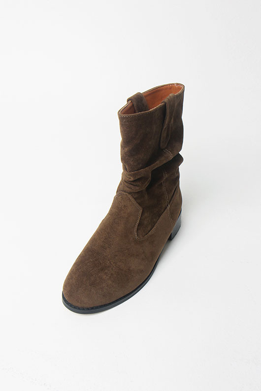 WRINKLE MIDDLE BOOTS