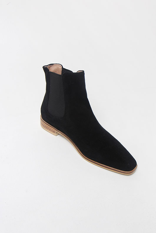 HIGH QUALITY SUEDE ANKLE BOOTS