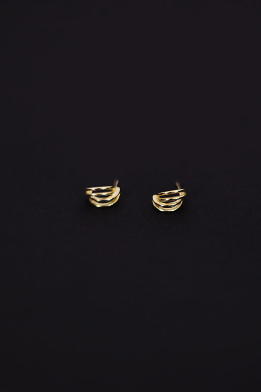 CLAM EARRING (925 SILVER)