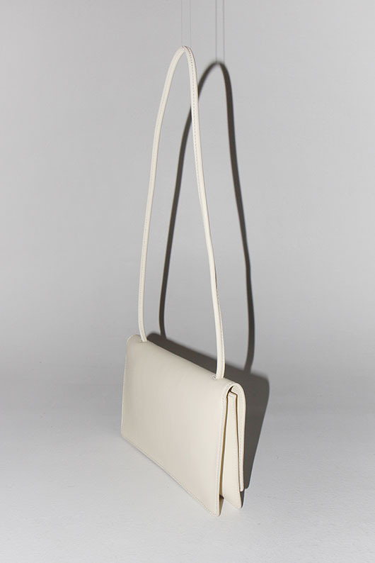 COWHIDE SQUARE BAG