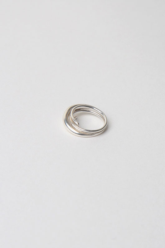 TWIST SIMPLE RING (SILVER 925 )