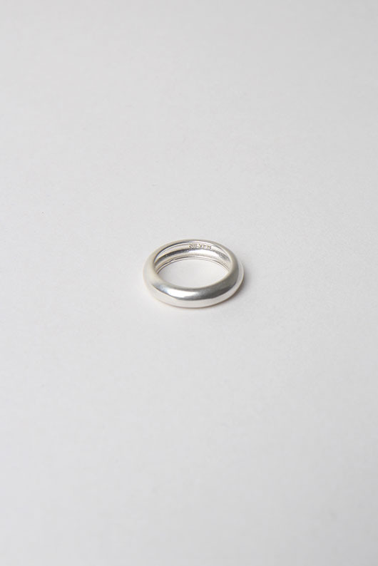 SILVER ROUND RING (SILVER 925 )