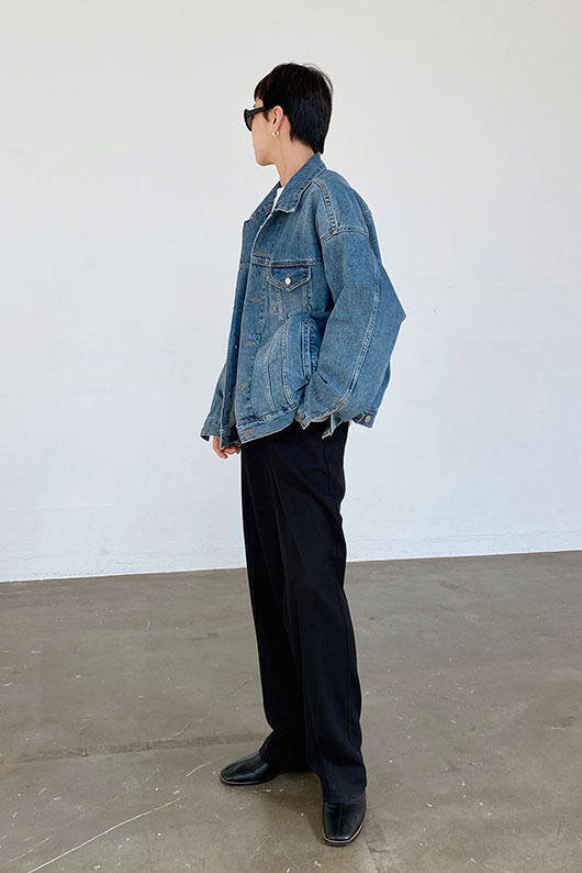 OVERFIT DENIM JACKET (W/M)