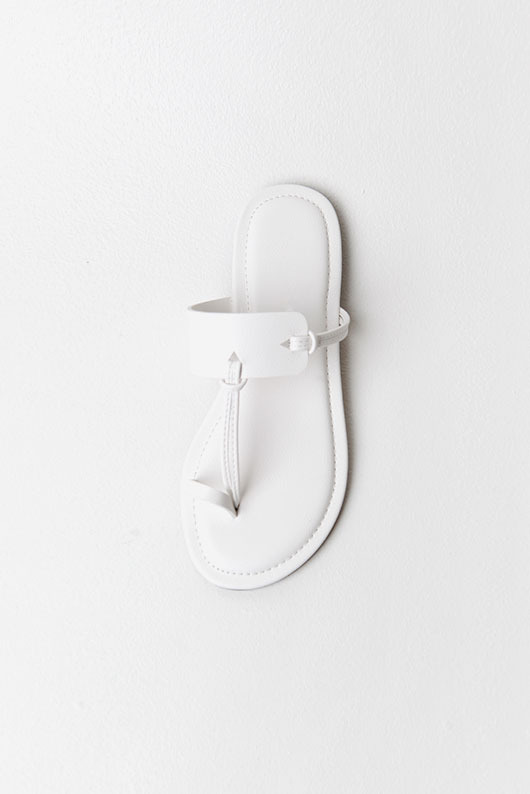 LEATHER SUMMER SLIPPER