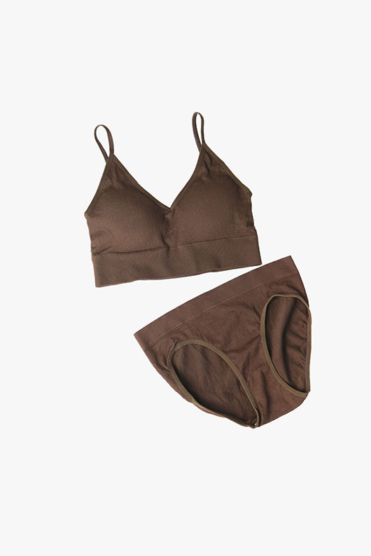 COLOR COTTON BRA TOP SET(당일 발송 가능)