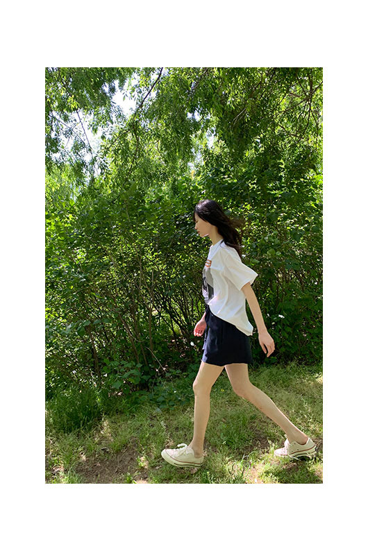 Film of May linen short pants