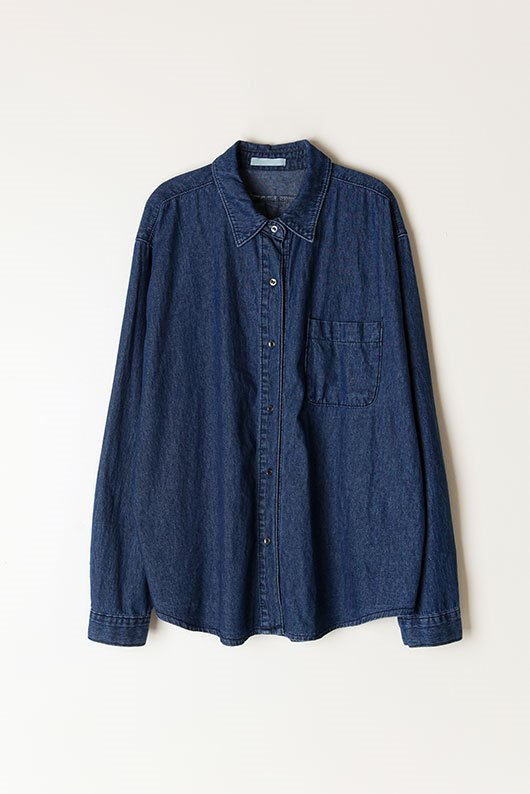 LOOSE FIT DENIM SHIRTS