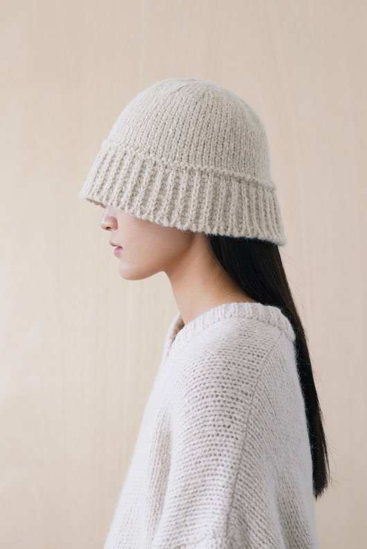 ALPACA WOOL  KNIT HAT (7 COLOR)