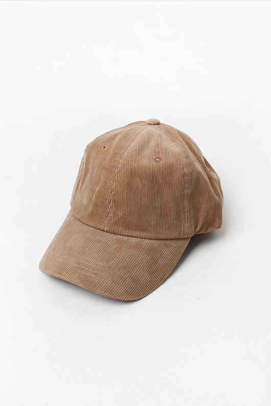 CORDUROY BALL CAP (3 COLOR)