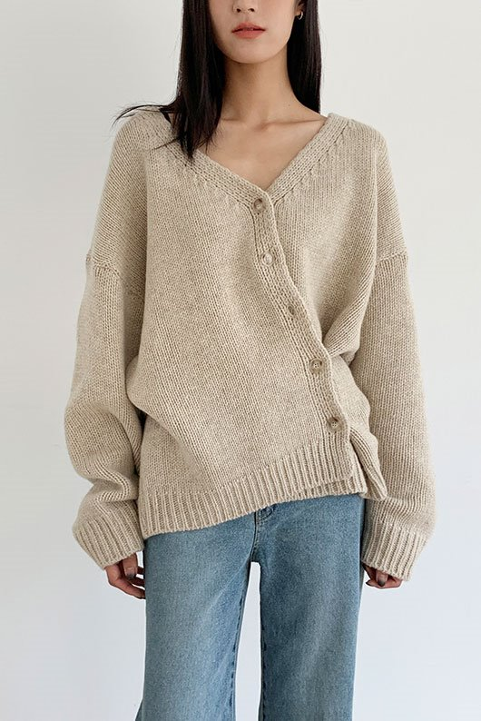 DRISSE CARDIGAN (BEIGE COLOR)