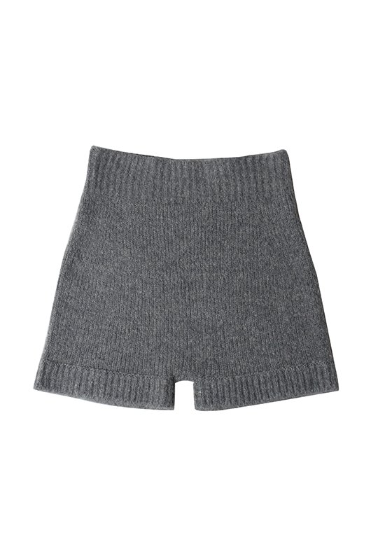 BEAR KNIT SHORTS PANTS (CREAM COLOR)