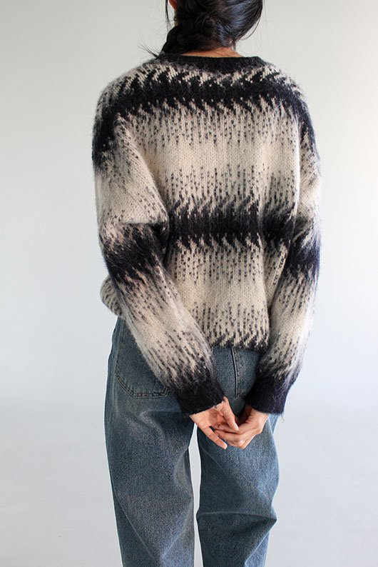WINTER BRUSH KNIT (2 COLOR)