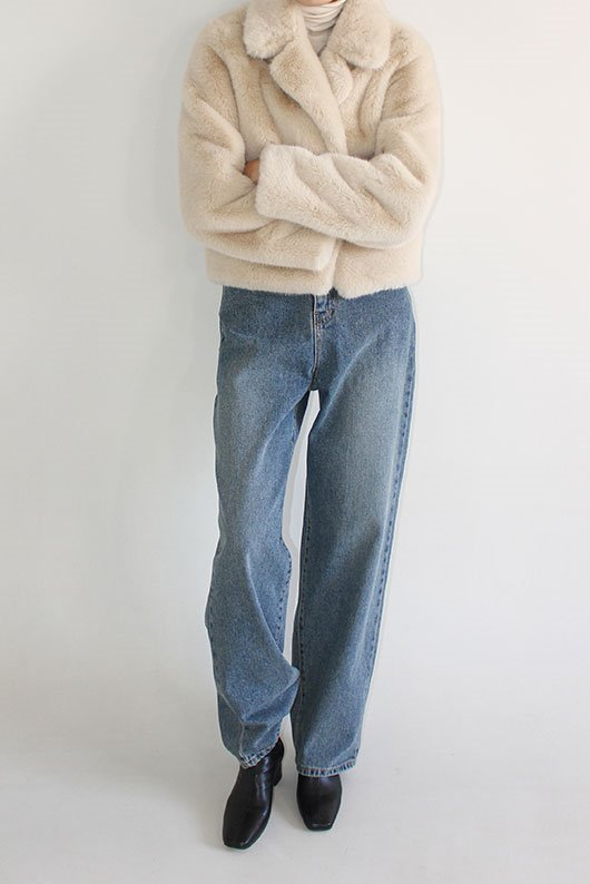 NOMAL LONG DENIM (GREEN DENIM)