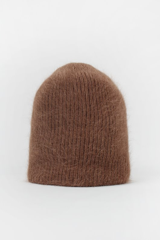 SHORT ANGORA BEANIE (7 COLOR)