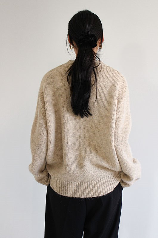 ALPS LOOSE FIT KNIT (BEIGE COLOR)