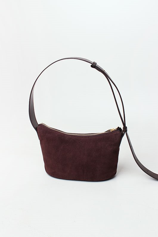 LEATHER HOBO BAG (2 COLOR)