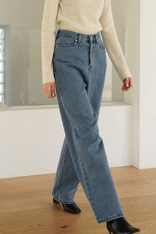 NOMAL LONG DENIM (DENIM)