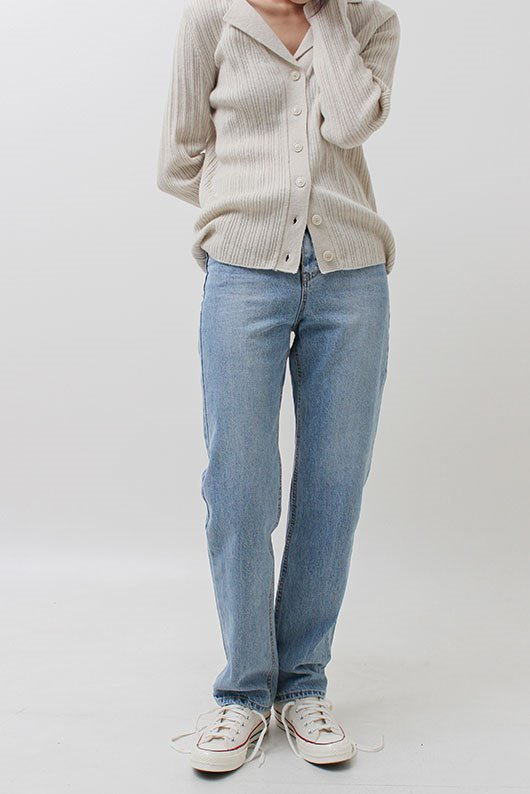 LIGHT BLUE LONG DENIM