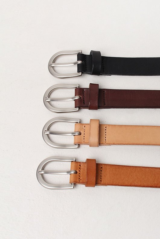 REAL LEATHER DAILY BELT (4 COLOR)