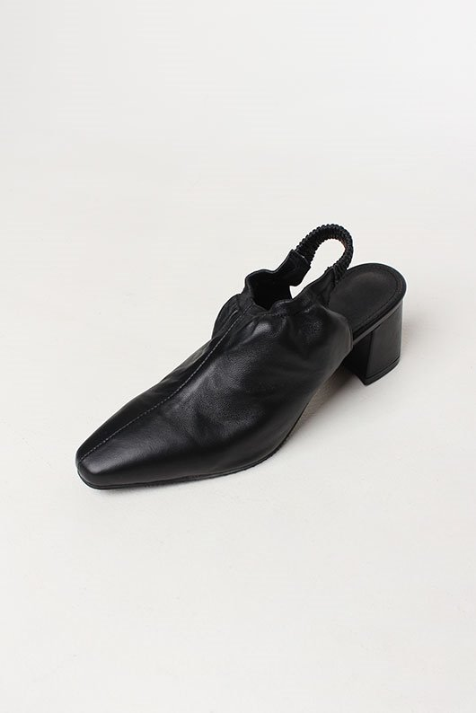 [leather] SHEEP SKIN SLINGBACK SHOES (2 COLOR)