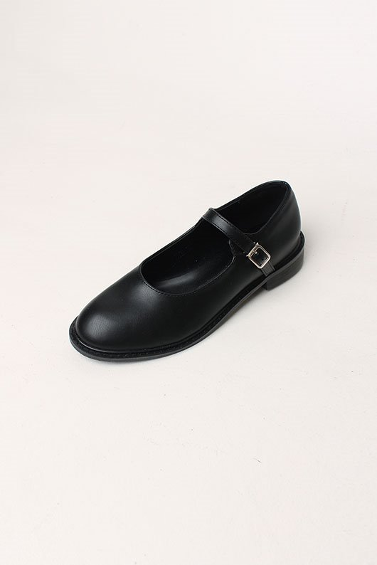 ROUND MARY JANES SHOES (2 COLOR)(3월 중 입고)