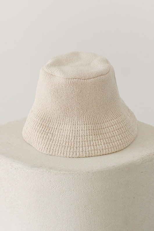 KNIT BUCKET HAT (6 COLOR)
