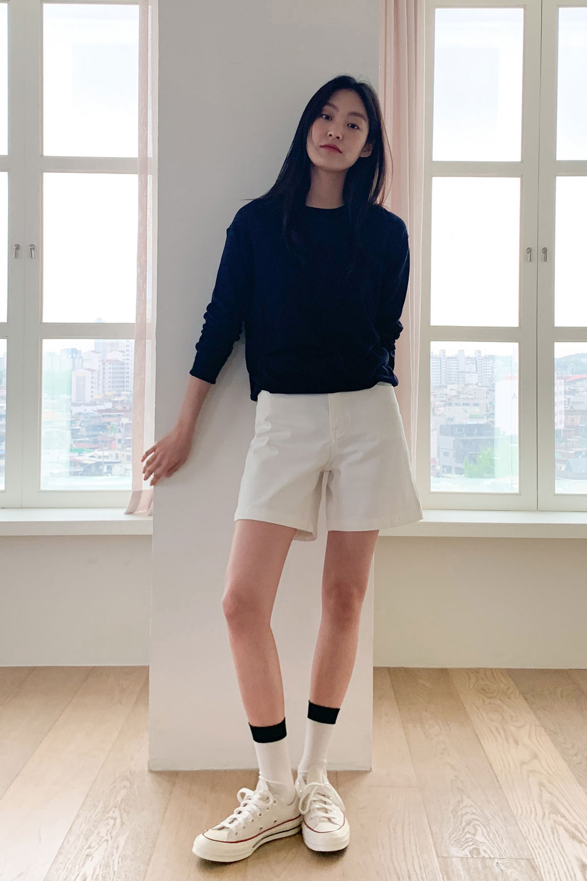 GALLRY WHITE SHORT PANTS