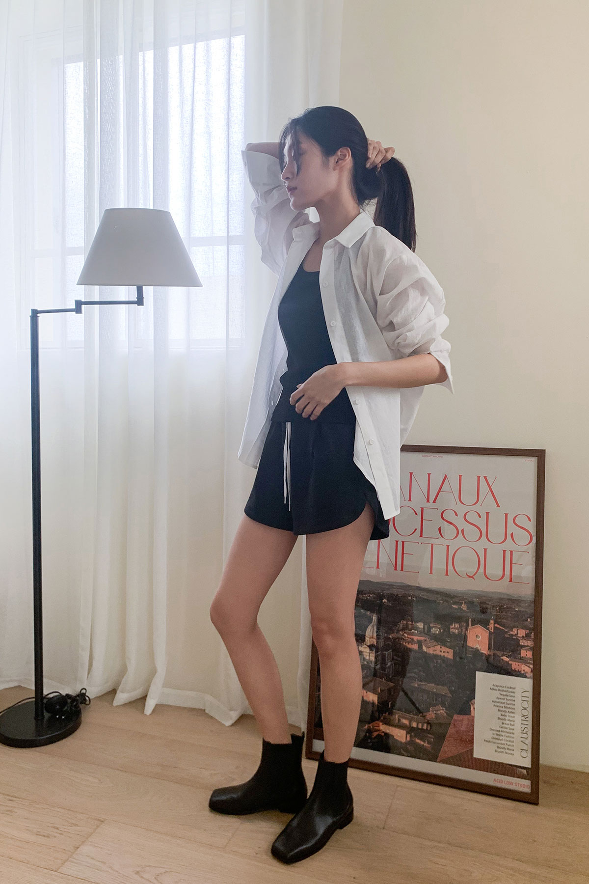 EASY SHORT PANTS (3 COLOR)